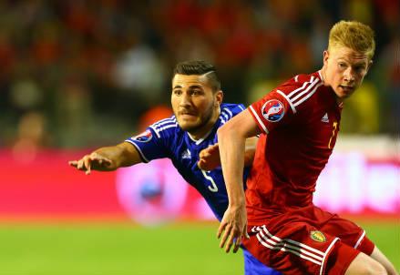 Kevin De Bruyne, 24 anni, centrocampista offensivo del Belgio (INFOPHOTO)