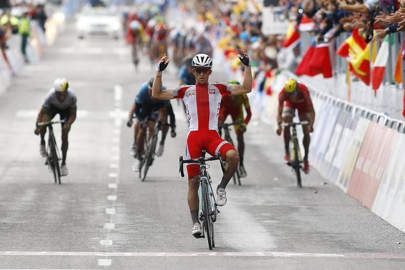 Michal Kwiatkowski: il campione del Mondo ha vinto il prologo ieri