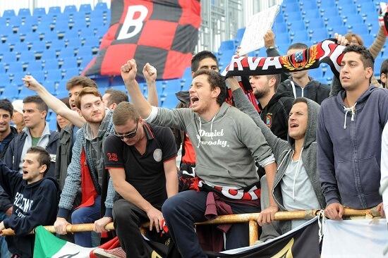 Tifosi del Lanciano (Infophoto)