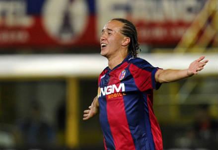 Diego Laxalt, 20 anni, centrocampista uruguaiano del Bologna (INFOPHOTO)