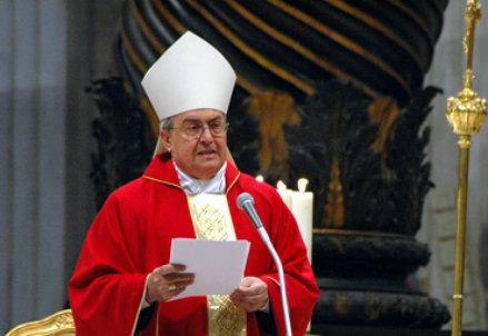 Il cardinale Leonardo Sandri