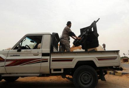 Milizie libiche (Immagine d'archivio)