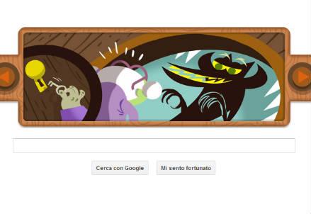 Il logo di Google dedicato ai fratelli Grimm