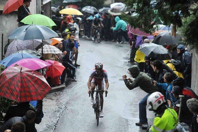 Joaquim Rodriguez in azione nella scorsa edizione (da Facebook Il Lombardia)