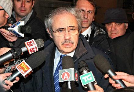 Il governatore della Sicilia, Raffaele Lombardo