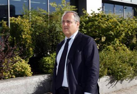 Claudio Lotito, presidente Lazio (Foto Infophoto)