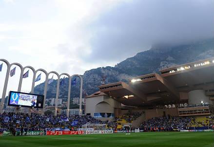 Lo Stade Louis II di Montecarlo, casa del Monaco (INFOPHOTO)