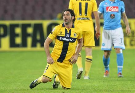 Alessandro Lucarelli, 37 anni, capitano del Parma (INFOPHOTO)
