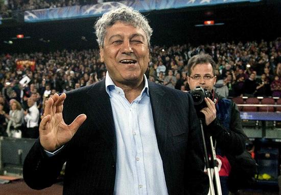 Mircea Lucescu, allenatore Shakhtar (Infophoto)