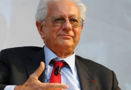 Luigi Berlinguer, ministro dell'Istruzione dal 1996 dal 2000 (Infophoto)