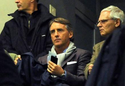 Roberto Mancini, 49 anni, di nuovo allenatore dell'Inter (INFOPHOTO)