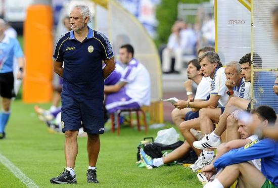 Andrea Mandorlini, 52 anni, allenatore del Verona che punta alla promozione (INFOPHOTO)