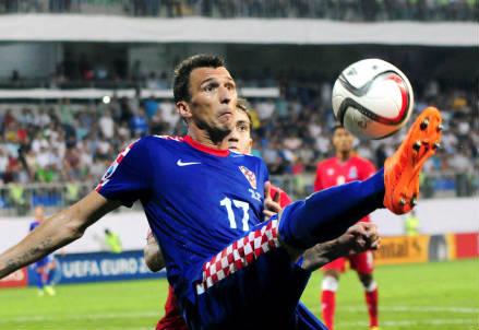 Mario Manduzkic, 29 anni, attaccante della Croazia (INFOPHOTO)
