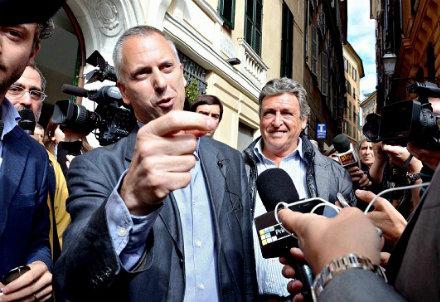 Marco Doria, sindaco di Genova. Foto InfoPhoto
