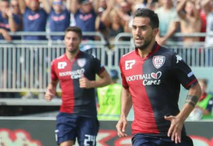 Marco Sau, 28 anni, attaccante del Cagliari (INFOPHOTO)