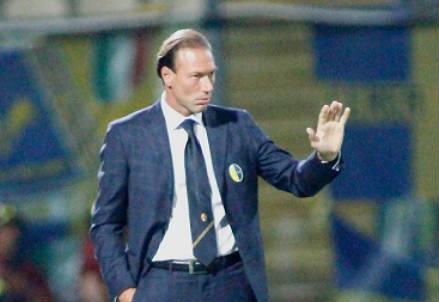 Dario Marcolin, 43 anni, allenatore del Catania (INFOPHOTO)