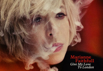 Marianne Faithfull, la cover
