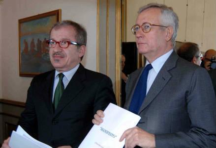 Roberto Maroni e Giulio Tremonti (InfoPhoto)