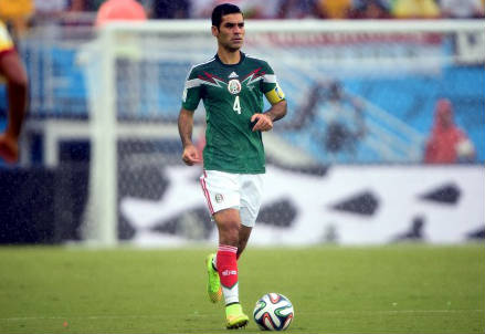 Rafael Marquez con la maglia del Messico (Infophoto)