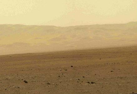 Immagini di Marte inviate da Curiosity, foto InfoPhoto