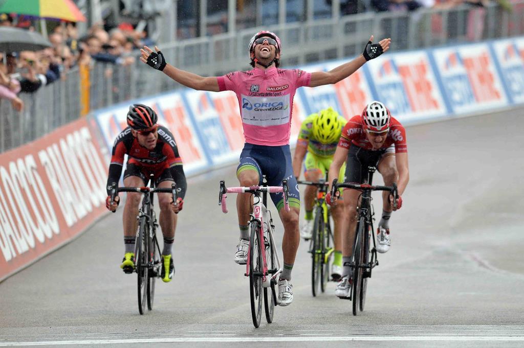 Michael Matthews vince a Montecassino (da Facebook)