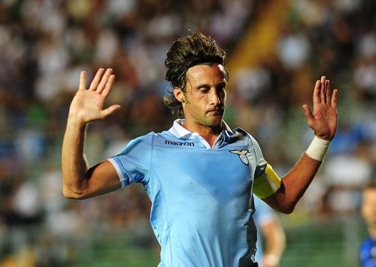 Stefano Mauri, capitano della Lazio (Infophoto)