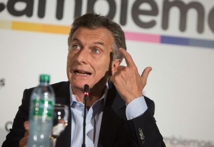 Mauricio Macri (Infophoto)