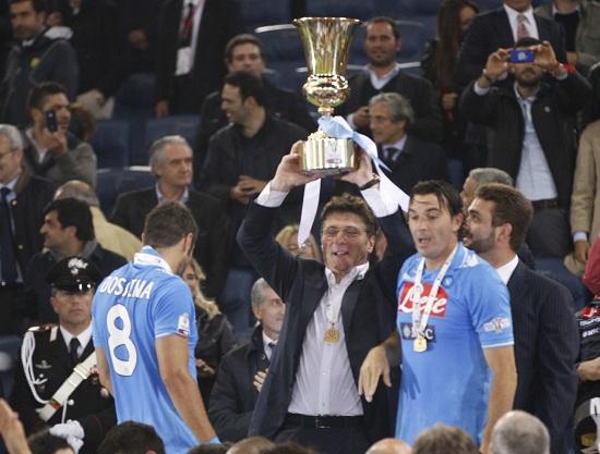 Prosegue la corsa alla Coppa Italia 2'12-2013: campione in carica il Napoli (INFOPHOTO)