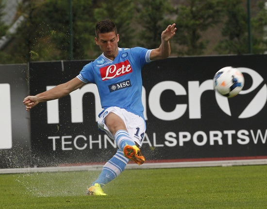 Dries Mertens, 4 gol in Serie A (Infophoto)