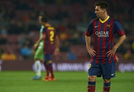 Lionel Messi, 27 anni (INFOPHOTO)