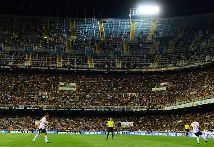 Lo stadio di Valencia
