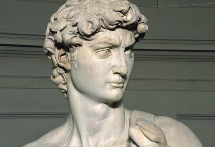 Michelangelo, David (1501-04) (Infophoto)