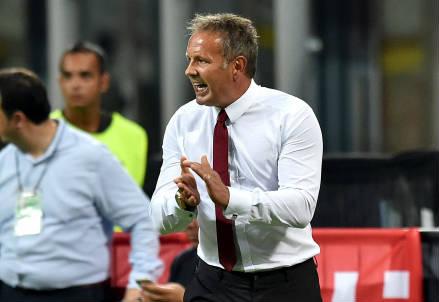 Sinisa Mihajlovic, 46 anni, allenatore del Milan (INFOPHOTO)