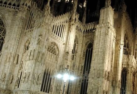 Il duomo di Milano (Infophoto)