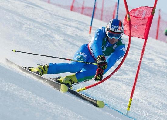 Manfred Moelgg in azione: speriamo di rivederlo presto così (Infophoto)