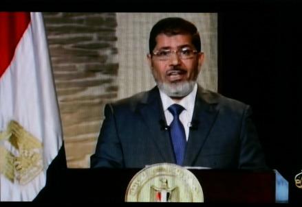 Il presidente Mohammed Morsi