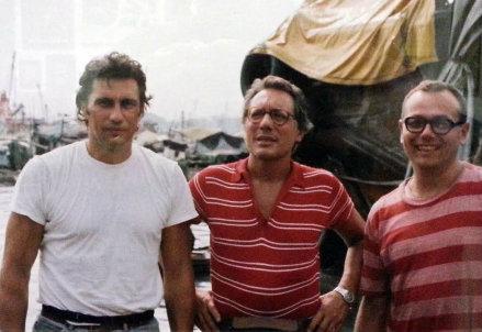 Enzo Montanari (a sinistra) con Enzo Jannacci