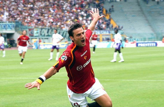 Vincenzo Montella ai tempi della Roma (Infophoto)
