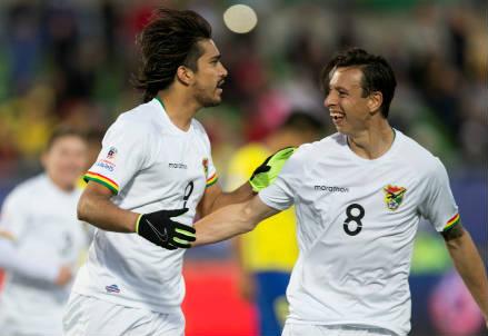 I boliviani Marcelo Moreno (sinistra), 28 anni e Martins Smedberg-Dalence, 31 (INFOPHOTO)