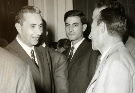 Aldo Moro (a sin.) (1916-1978) (Infophoto)