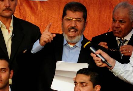 Il presidente egiziano Mohamed Morsi (InfoPhoto)