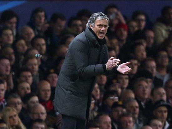 Josè Mourinho, 50 anni, allenatore portoghese del Chelsea (INFOPHOTO)