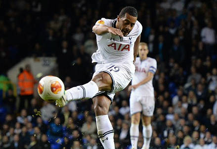 Moussa Dembele, 28 anni, centrocampista belga del Tottenham (INFOPHOTO)