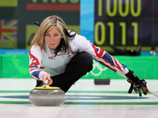Eve Muirhead, 23 anni, curler scozzese