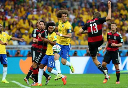 Il gol dello 0-1 di Thomas Muller (dal profilo Twitter ufficiale @FIFAWorldCup)