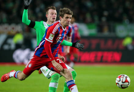 Thomas Muller, 26 anni (INFOPHOTO)