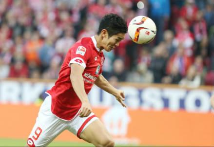 Yoshinori Muto, 23 anni, attaccante giapponese del Mainz (INFOPHOTO)