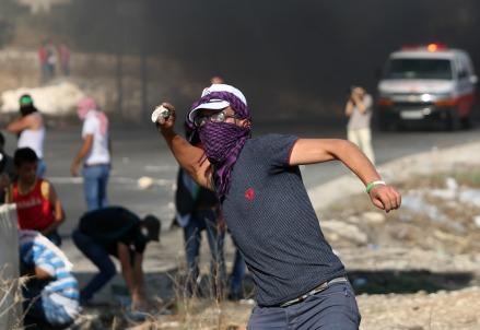 Un palestinese a Nablus