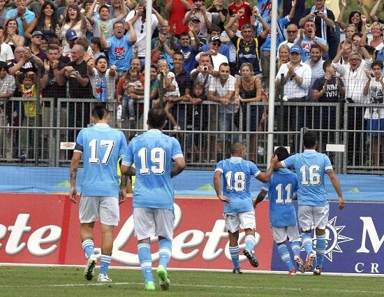 Il Napoli è pronto ad una stagione da protagonista (INFOPHOTO)