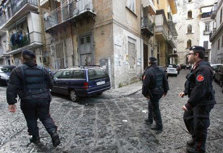 Strade di Napoli, foto InfoPhoto